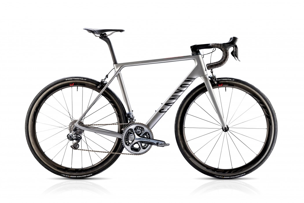Canyon Ultimate CF SLX (side view)